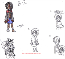 9- B-2 Doodles by Spoiler-Ticket