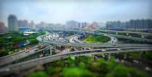 miniature city by GregoriusSuhartoyo