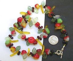 fruit salad necklace by wombat1138