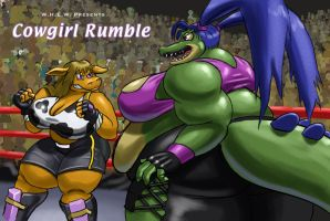 Cowgirl Rumble by Kazecat