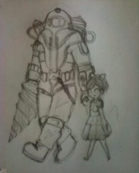 Walk with Daddy by REJECTEDhaha