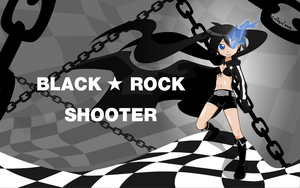Black Rock Shooter by Coffgirl