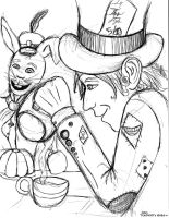 The Hatter and the Hare by AcceptChaos