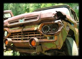 the old, beat up truck by caycee