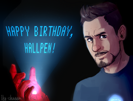 Happy Bday Hallpen by Ita-chaaan