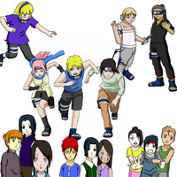 Naruto New Arc Kids by Raccoon26
