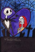 Jack and Sally by CourtneyElizaDiena