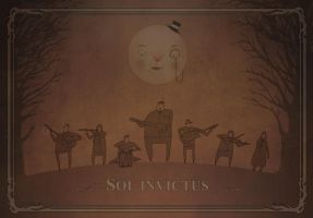 Sol Invictus promo illustration by torvenius