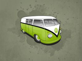 VW Camper Wallpaper Pack by Matzeline