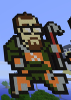 Minecraft Halflife Dr. Freeman by exit1