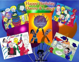 DannyLance's Birthday Collage by TheEdMinistrator765
