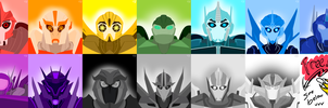 Robo-rainbow icons by Aurelious-Auria