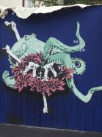 Enjoy Octopus by CritterStreetArt
