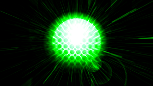 The bright green Ball (Wallpaper) by Hardii