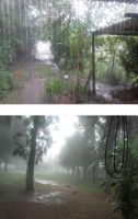 Is raining a lot in Villaguay by DingoPatagonico
