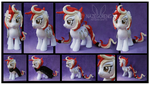 Firecracker OC Custom Plush by Nazegoreng