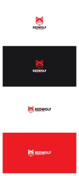 Red Wolf Logo by AlinDesign
