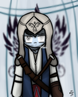 Dead Rainbow Dash as Connor from Assassins Creed 3 by KexonNRubylar
