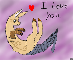 jean loves you by ArZulite