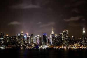New York Night by d1rtyw0rm