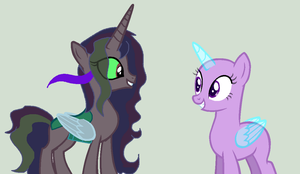 OC met's Somdence (collab) by kim-306