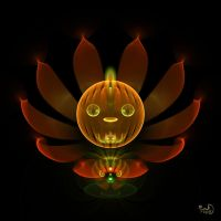 Pumpkin Lotus by Kabuchan