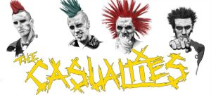 The Casualties -color- by SkaPunkRock0