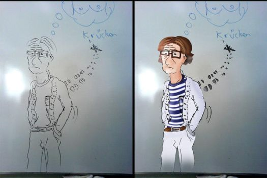 From white board to Photoshop by Soelen