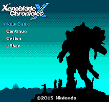 Xenoblade Chronicles X Title Screen-NES Style by ProfChristopher