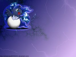 D'aaaw Luna Wallpaper by Amaterasu987654321