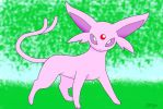espeon at hideout by pokefan444