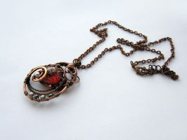 "Pendant ""Ashes"" by UrsulaOT"