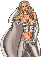 Emma Frost - Colour by allistermac