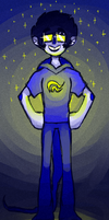 Homestuck Doodle - Everything Glows by abbic314