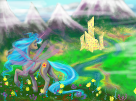 Queen Chrysalis Before the Plague by cathykitcat