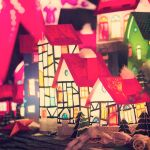 Christmas town by EliseEnchanted