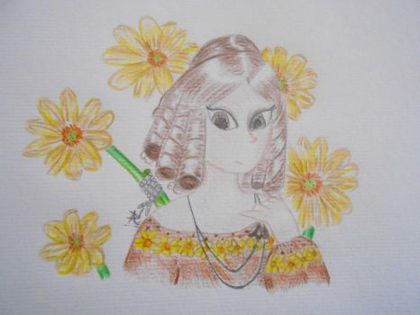 Mary Shelley by Snails-flowers
