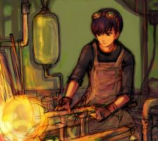 the glass blower by pancake-waddle