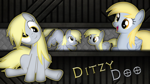 [Metal Series] Derpy Hooves (Ditzy Doo) by Meteor-Venture