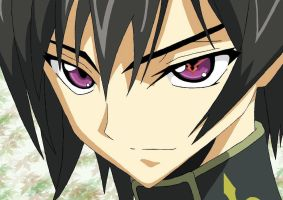 Lelouch Lamperouge Vector 2 by LadyNaria