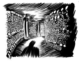 catacombs by ZombPunk