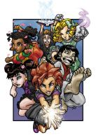 .WITCHGIRLS.COLOUR.LARGER. by theCHAMBA