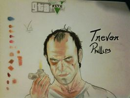 Trevor Philips GTA V by tronyx12