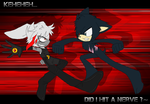 ::Collab::  Arai Vs Lyon: 'Oh, did I hit a nerve?' by silver-lover24