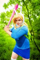 Fionna The Human cosplay by Shipou-Negiru