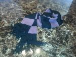 My Knitted Scarf by Mscheveous