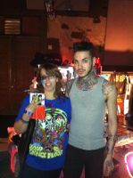 Jayy Von Monroe and Me by Tinalbion