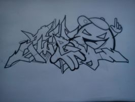 Zwei Up In This B!tch by SUREGRAFFITI