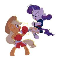 commission: sparring by Siansaar