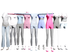 MMD Fashion by vladanor